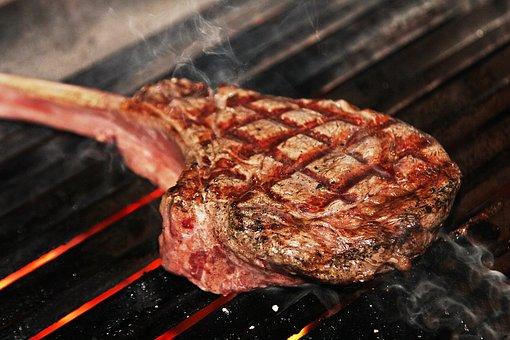 ステーキ, トマホークステーキ, 焼き物, 美味しい, 牛ステーキ, 牛肉