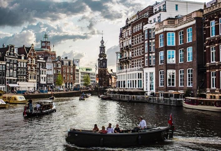 Barco, Turístico, Viagem, Turismo, Amsterdam, Cidade