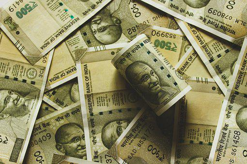 Rupee, Indian, India, Money, Bank Note