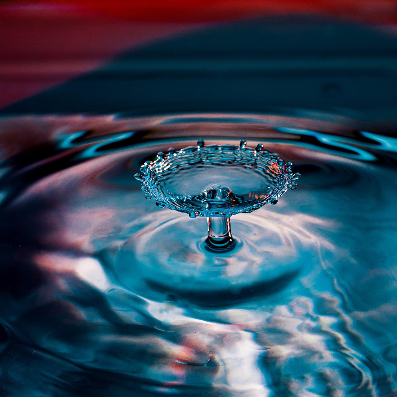 Drop Of Water High Speed Free Photo On Pixabay