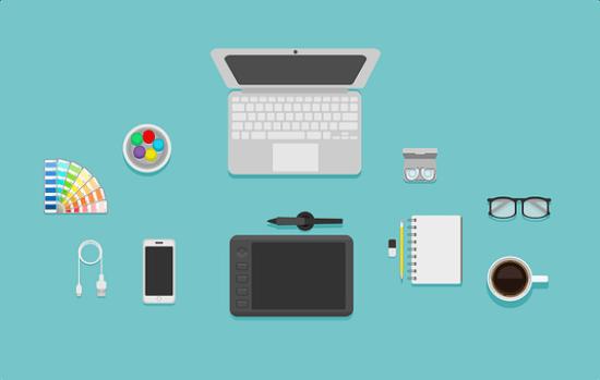 グラフィックデザイナー、アクセサリー、Macbook、Mac、仕事、技術