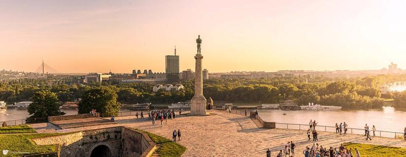 Kalemegdan, Belgrade, Ser, Serbia, Park, Patriotism