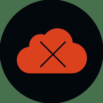 Cloud Server Not Working, Dead Server, Dead Server Icon
