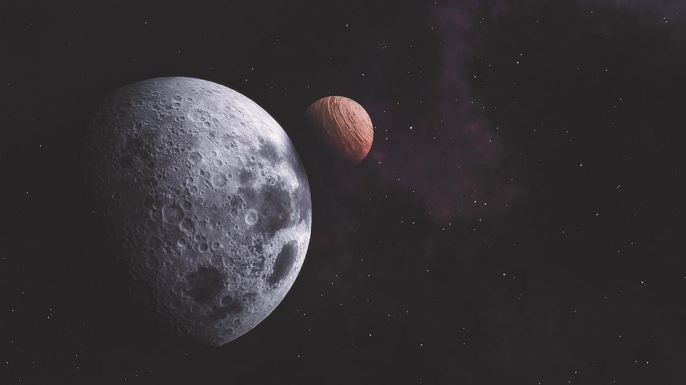Universe, Space, Orange, Astronomy, Sky, Cosmos, Galaxy