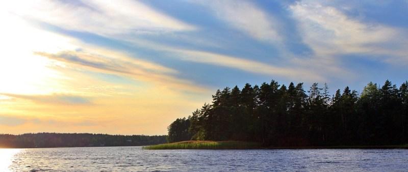Sunset, Mood, Sweden, Sky, Dusk, Landscape, Evening