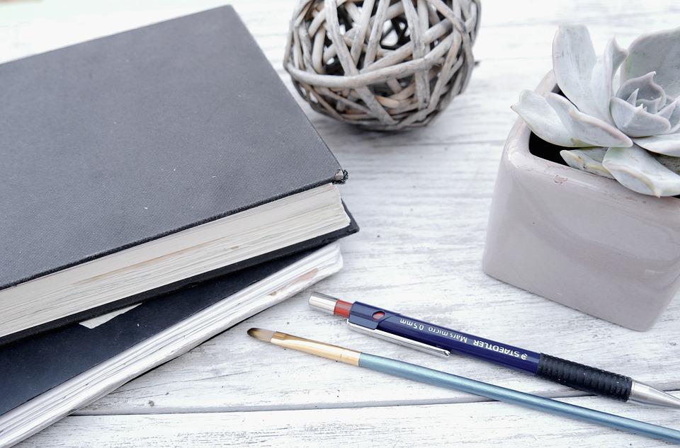 Sketchbook, Pencil, Pink, Portfolio, Creative, Design
