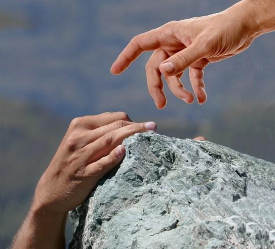 支援, 手, 登山, レスキュー, 救出, 男, 男性, サポート, 思いやり, 落下, 事故, 下落