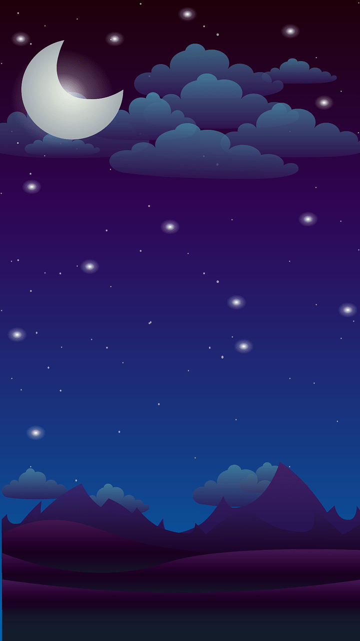 Langit Malam Png : langit, malam, Night, Background, Vector, Graphic, Pixabay