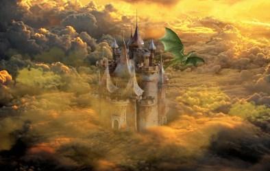 Dragon Castle Fantasy Free image on Pixabay