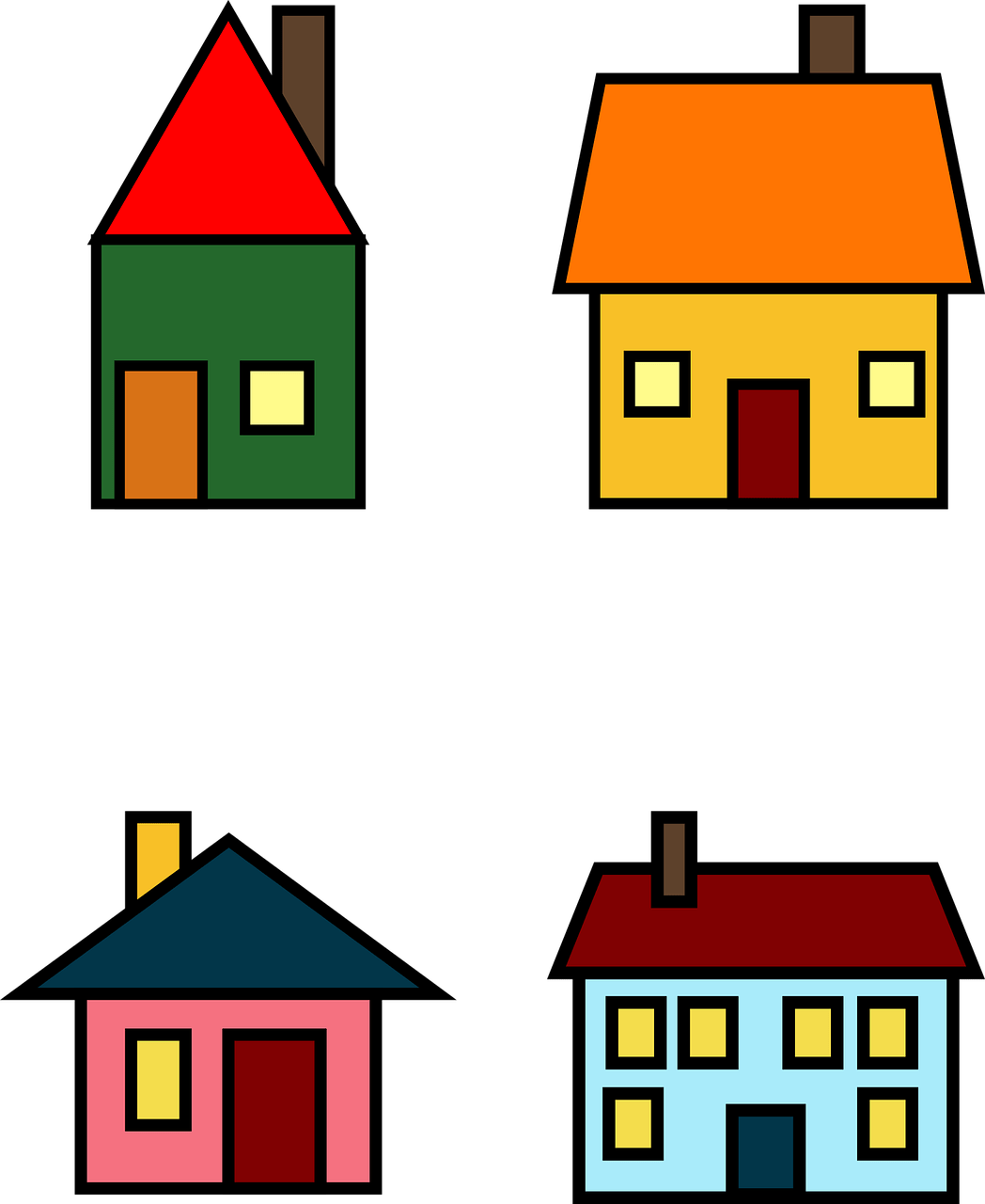 Rumah Png Icon : rumah, House, Vector, Graphic, Pixabay