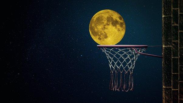 Moon, Moonlight, Night, Full Moon