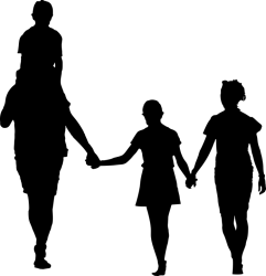 Family People Silhouette Free vector graphic on Pixabay