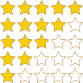 Amazon Stars, Star Ratings, Review Stars