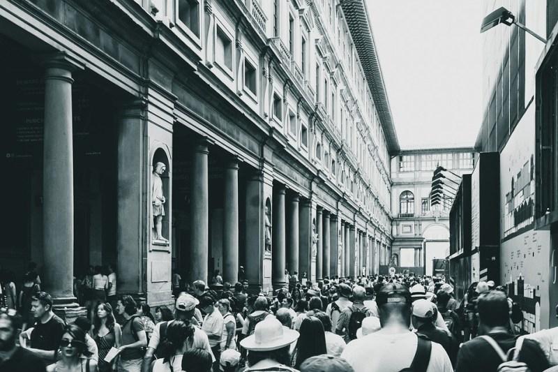 Florence, Galerie Carré, Galerie Des Offices