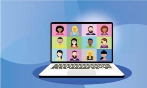 Videokonferenz, Online, Homeoffice, Webinar, Computer