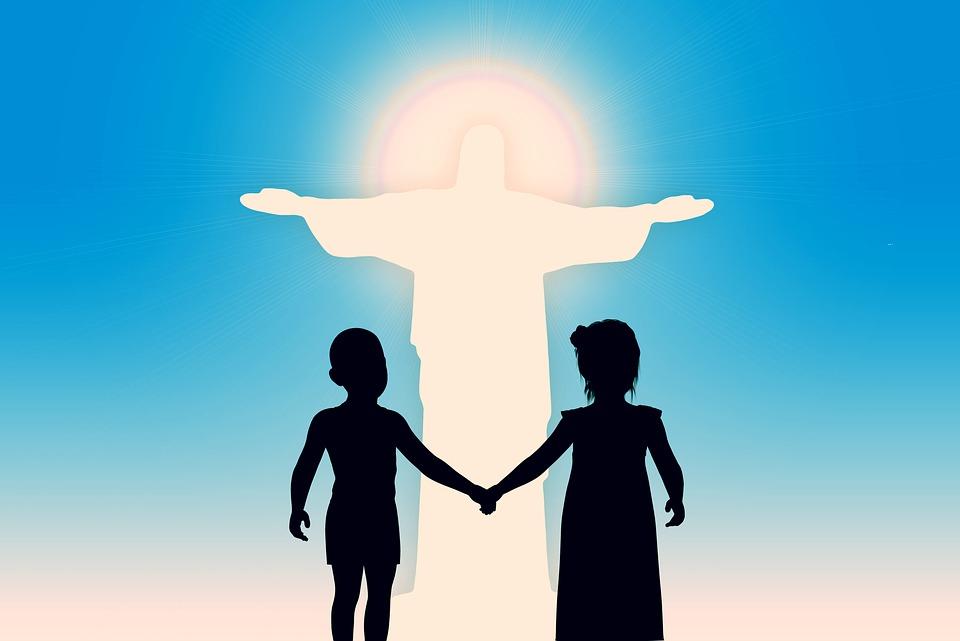 Believe, Religion, Jesus, Christ, Children, Church