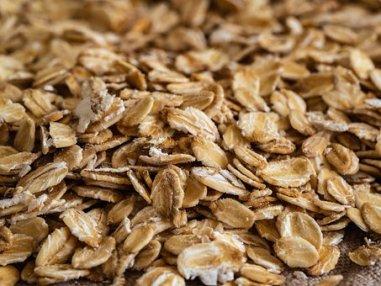Flakes, Oatmeal, Oats, A Handful Of