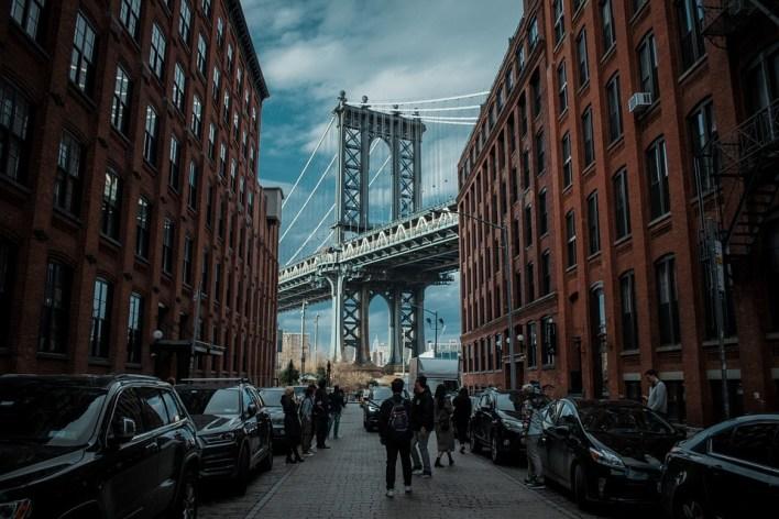 Dumbo, Ponte De Manhattan, Nyc, Cidade De Nova York