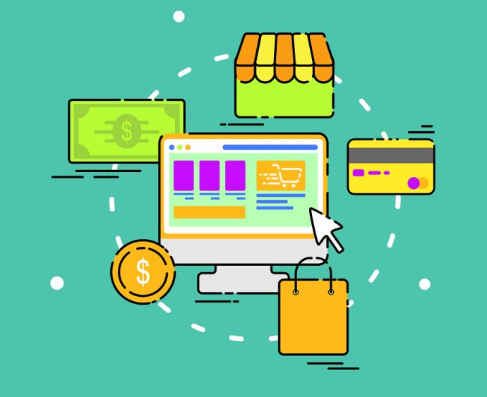 Shopping, Lo Shopping Online, Vendita, Internet