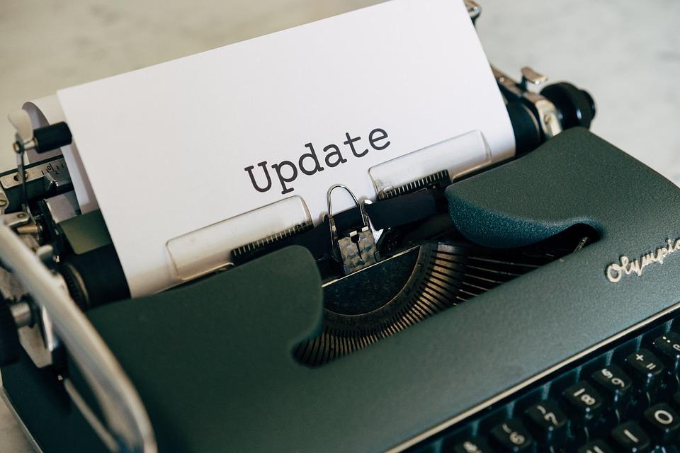Update, Publication, Blog, Smartphone, Mockup