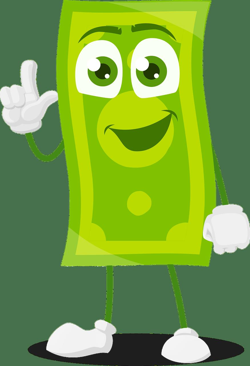 Money Cartoon Images : money, cartoon, images, Money, Cartoon, Character, Vector, Graphic, Pixabay