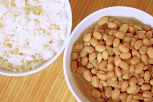 Habichuelas y arroz