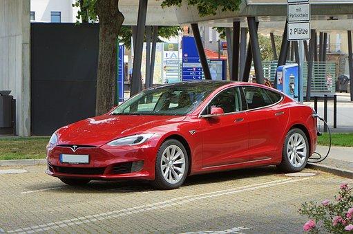 Tesla, Auto, Electric Car, Recharge