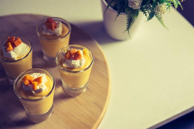 Dessert, Sweet, Fruit, Summer, Yellow, Mango, Food