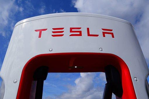 Tesla, Supercharger, Ev, Car, Automobile