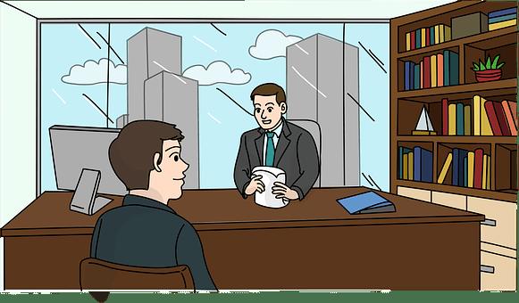 就職の面接, 仕事, 従業員, 雇用, ビジネスマン, 企業, 申請者
