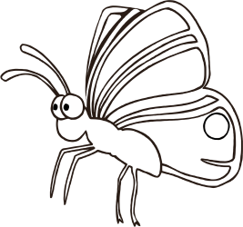 Butterfly Outline Drawing Free image on Pixabay