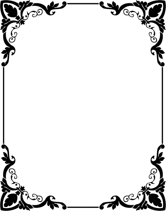 Hiasan Bingkai : hiasan, bingkai, Ornament, Frame, Border, Image, Pixabay