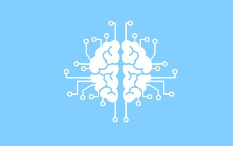 Machine Learning, Information, Brain, Mind, Logo