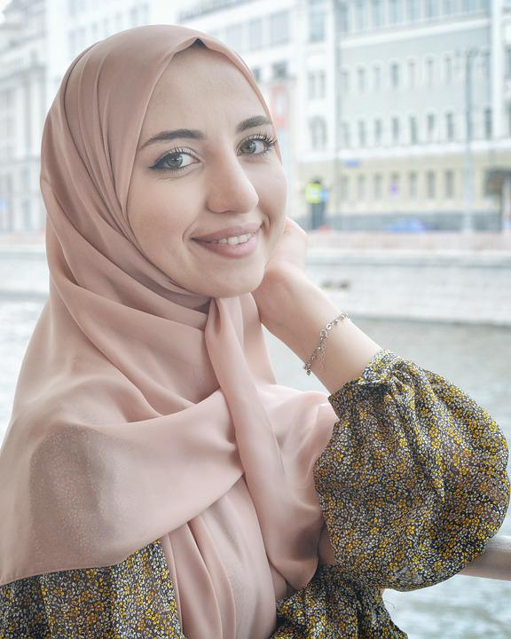 Hijab tutorial l everyday style (normal) & twist back. Ragazza Hijab Ritratto Foto Gratis Su Pixabay