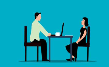 就職の面接, 雇用, 募集, インタビュー, 仕事, レンタル, 人, 候補者