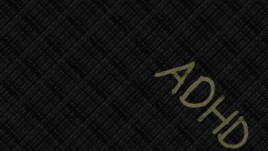 Adhd, Black, Background