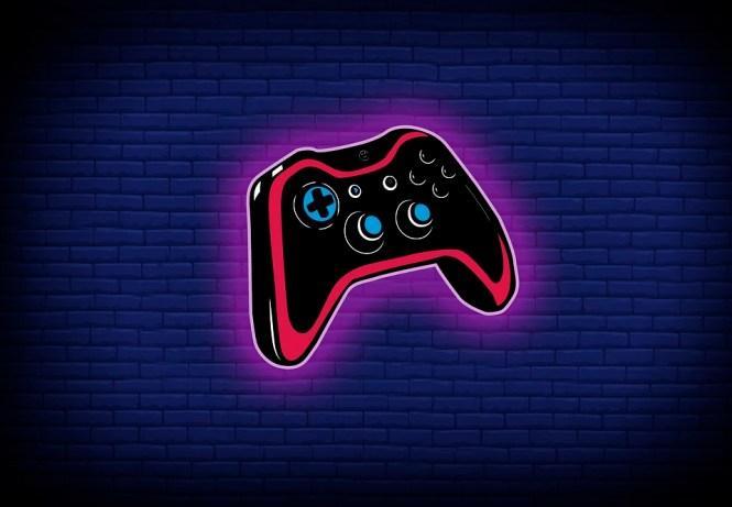 Gamepad, Colorful, Wallpaper, Gaming