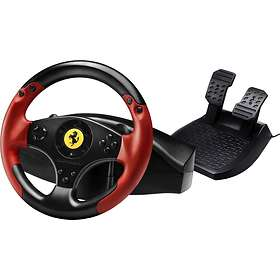 steering wheel pc example of fire exit diagram find the best price on thrustmaster ferrari racing red legend edition ps3 pricespy ireland