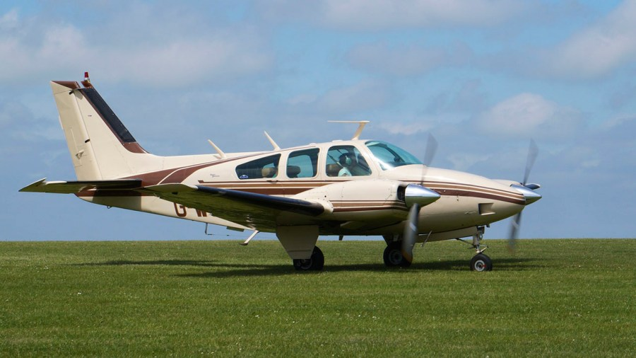 beech baron b58 - After The Accident: Fuel Exhaustion In Beech Baron 58