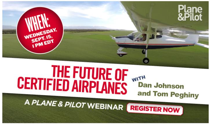 LSA Webinar 1 1 - Crystal Ball Time: The Future of Small Planes Webinar