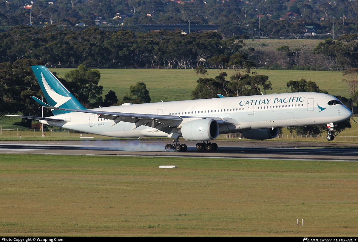 B-LRN Cathay Pacific Airbus A350-941 Photo by Wanping Chen | ID 910661 | Planespotters.net
