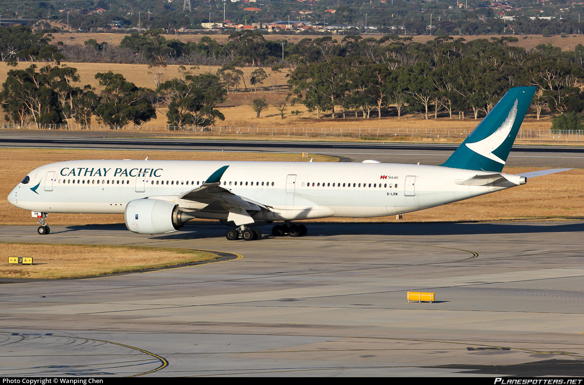 B-LRM Cathay Pacific Airbus A350-941 Photo by Wanping Chen | ID 942169 | Planespotters.net