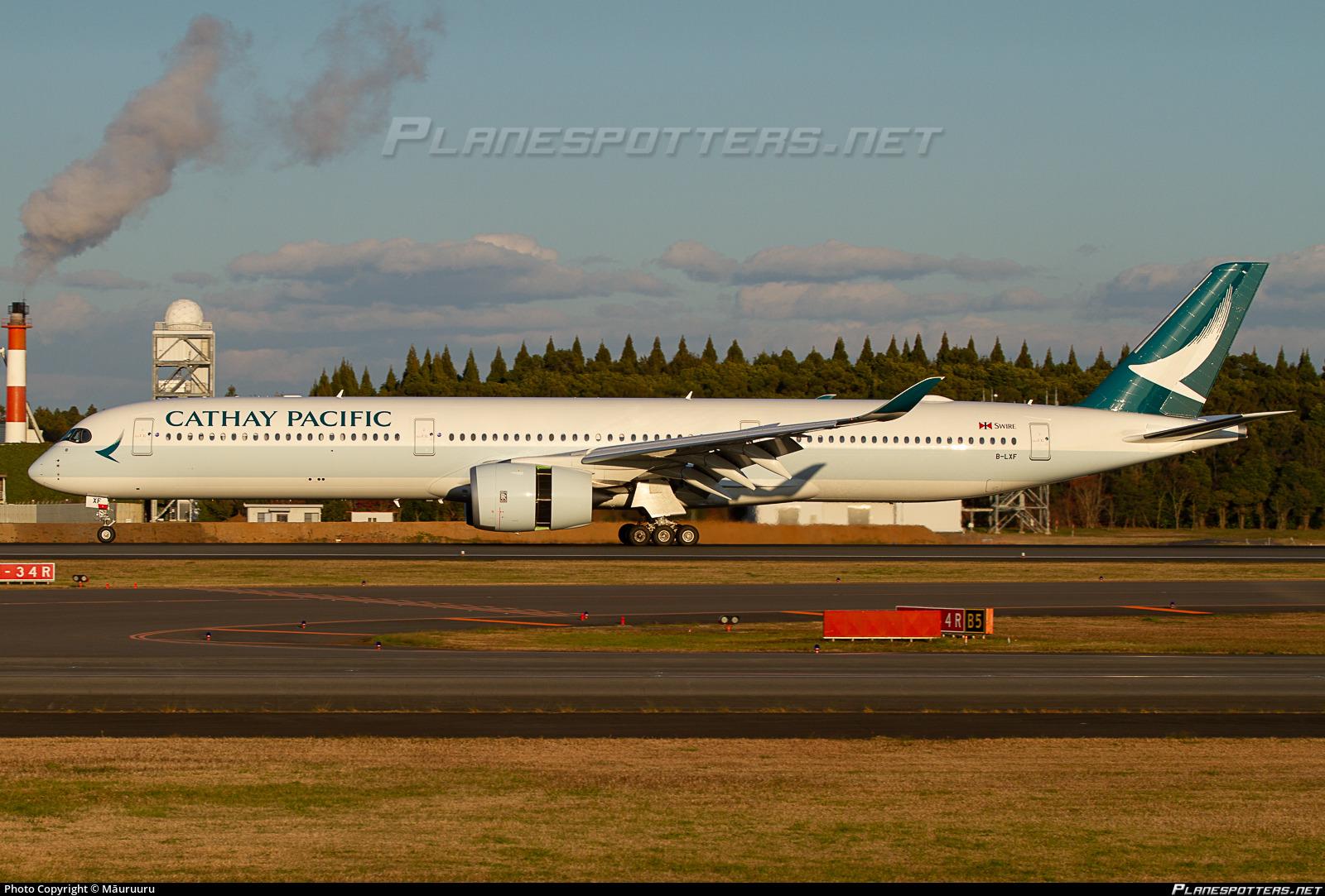 B-LXF Cathay Pacific Airbus A350-1041 Photo by TAHITI_IAORANA | ID 908113 | Planespotters.net