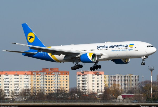 Ur-goa Ukraine International Airlines Boeing 777-2q8 Er Chris Jilli Id 830839