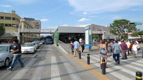 Corredor BRT en Guadalajara, México. © ITDP, vía Flickr.