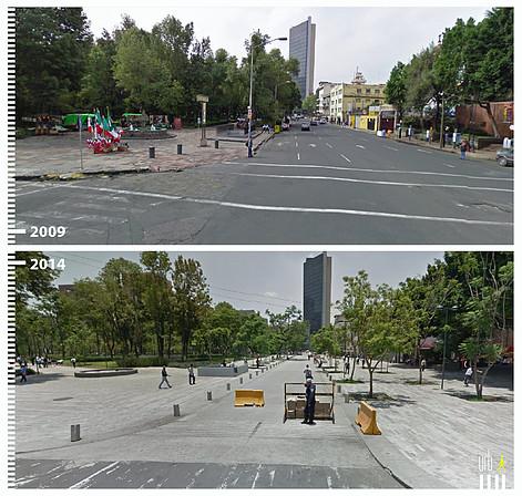 Dr. Mora, Ciudad de México. © Urb-i