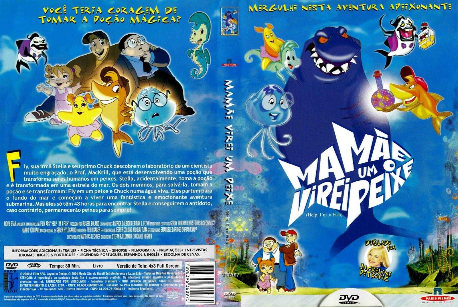 Hjælp, jeg er en fisk (2003)