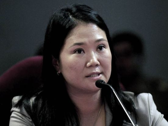 ¿Cómo se llama el partido que postula a Keiko Fujimori a la Presidencia?