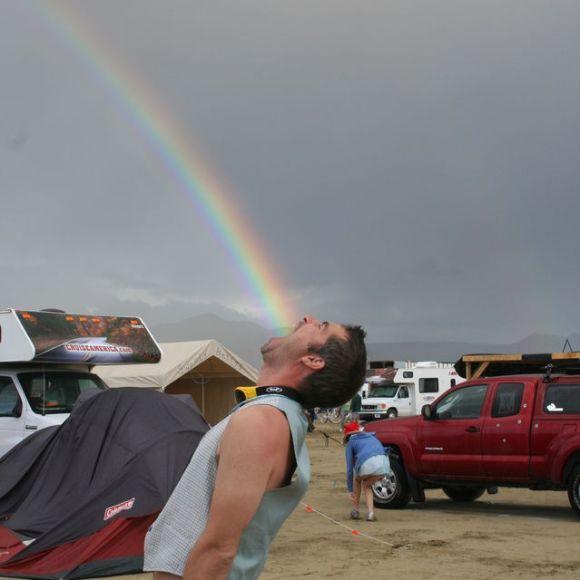 If thats's what is at the end of a rainbow, I'm disappointed.
