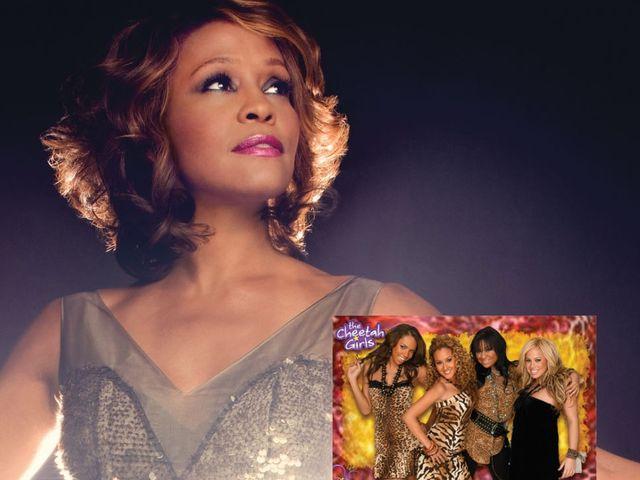 Whitney Houston participó en The Cheetah Girls